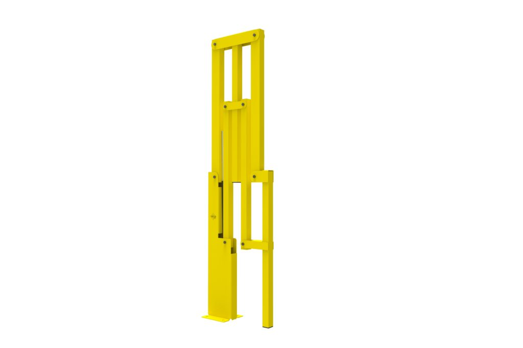 BIFOLD ISO4 - Warehouse safety barriers, forklift safety barriers, mezzanine pallet gates