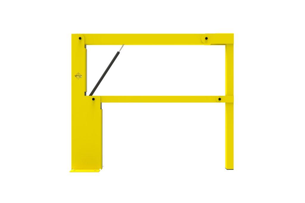 BV060 FR1 - Warehouse safety barriers, forklift safety barriers, mezzanine pallet gates