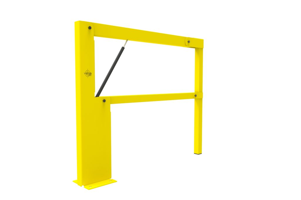 BV060 ISO2 - Warehouse safety barriers, forklift safety barriers, mezzanine pallet gates