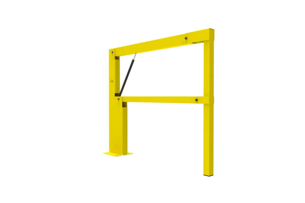 BV060 ISO3 - Warehouse safety barriers, forklift safety barriers, mezzanine pallet gates