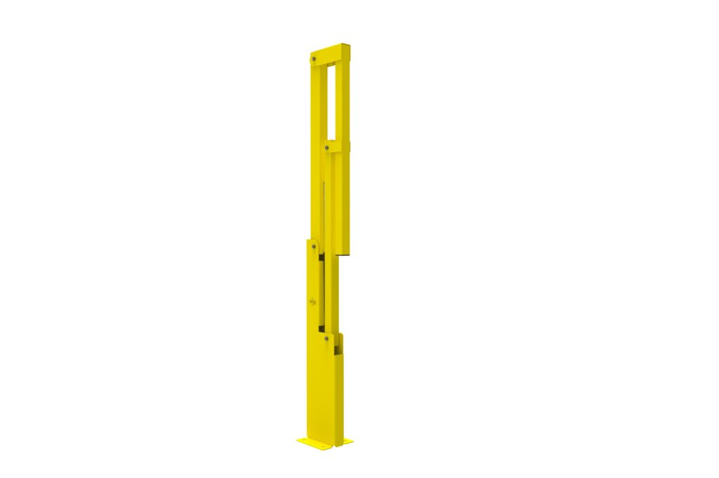 BV060 ISO4 - Warehouse safety barriers, forklift safety barriers, mezzanine pallet gates
