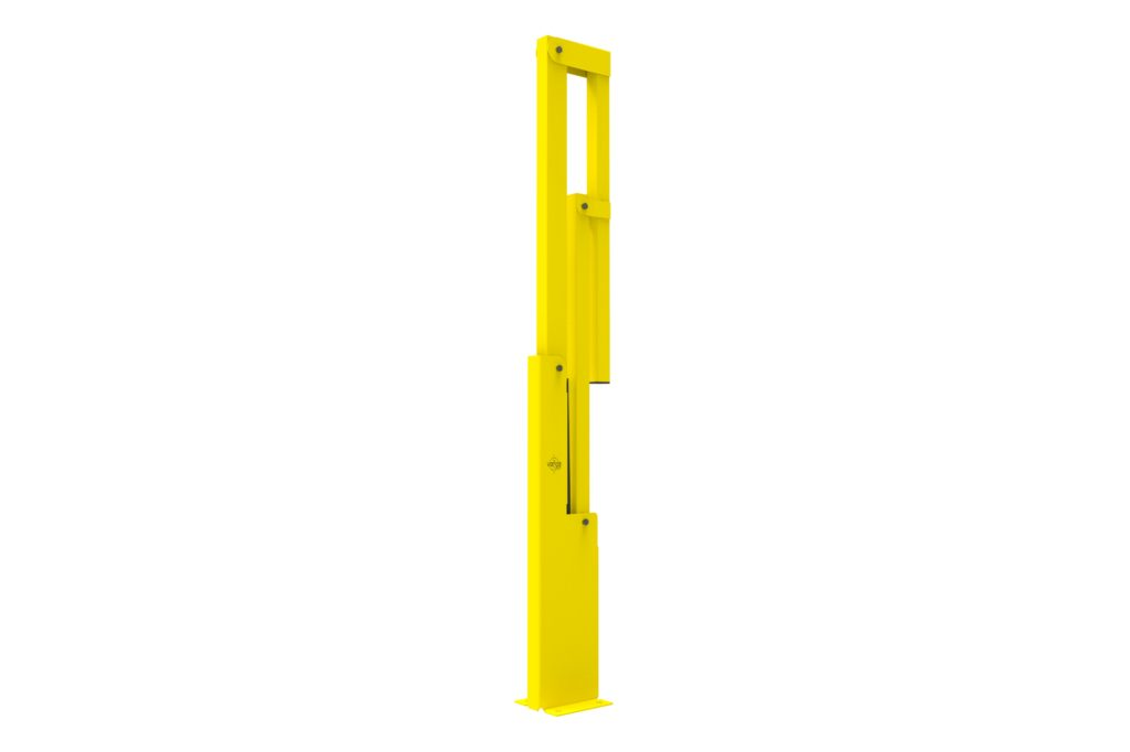 BV060 ISO5 - Warehouse safety barriers, forklift safety barriers, mezzanine pallet gates