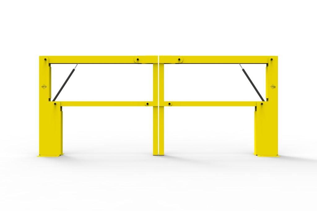 BV061 FR3 - Warehouse safety barriers, forklift safety barriers, mezzanine pallet gates