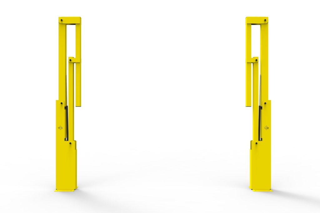 BV061 FR4 - Warehouse safety barriers, forklift safety barriers, mezzanine pallet gates