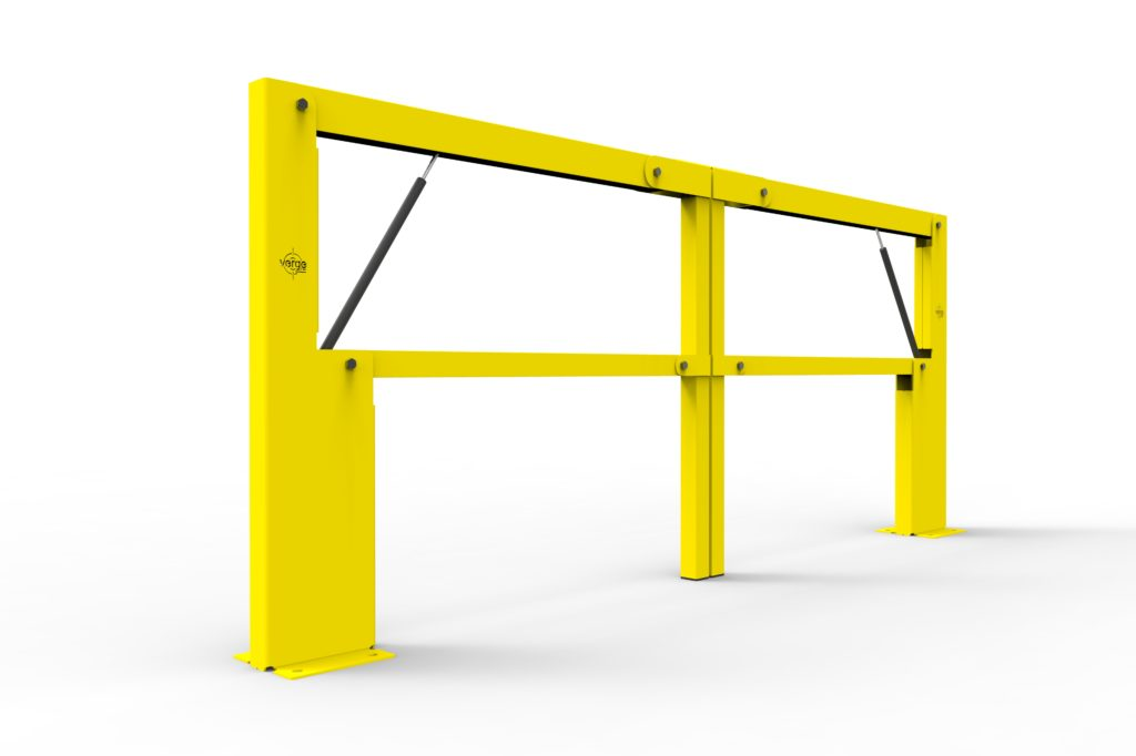BV061 ISO1 - Warehouse safety barriers, forklift safety barriers, mezzanine pallet gates