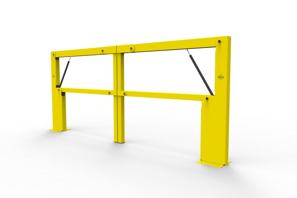 BV061 ISO2 - Warehouse safety barriers, forklift safety barriers, mezzanine pallet gates
