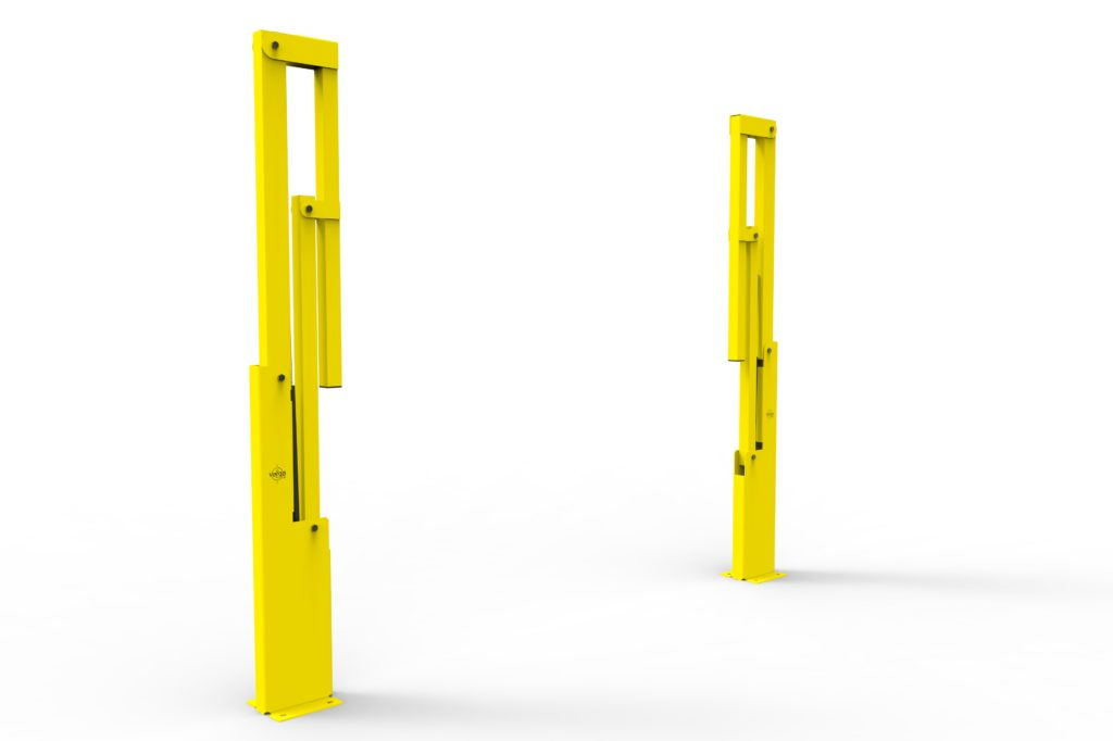 BV061 ISO5 - Warehouse safety barriers, forklift safety barriers, mezzanine pallet gates