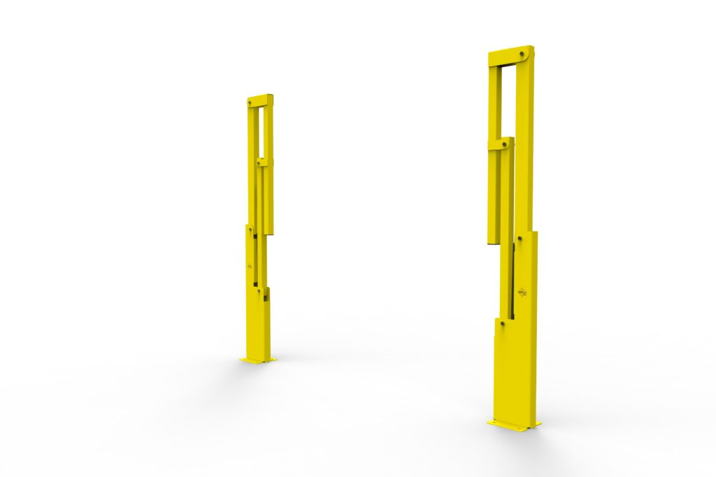 BV061 ISO6 - Warehouse safety barriers, forklift safety barriers, mezzanine pallet gates