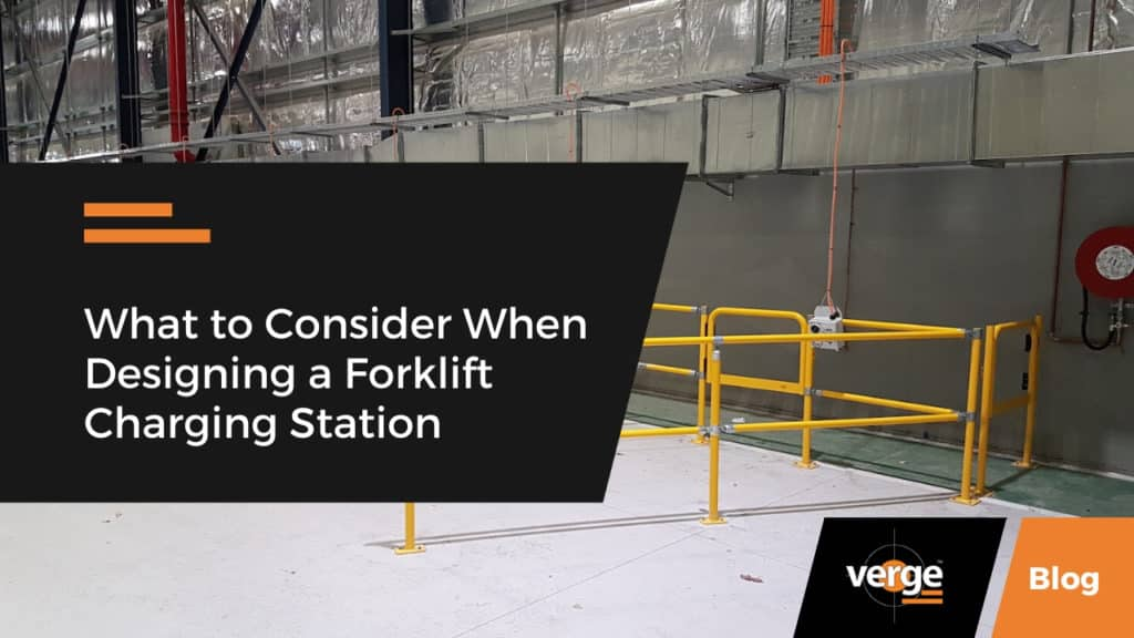 Critical Factors to Consider in a Forklift Charging Station Design