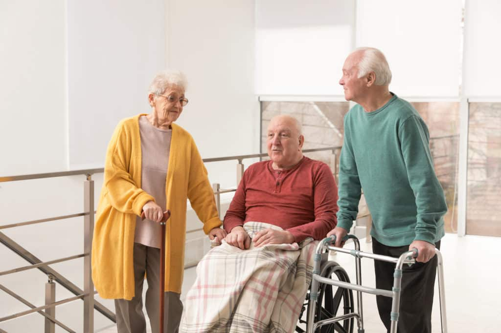 verge aged care facility safety barriers