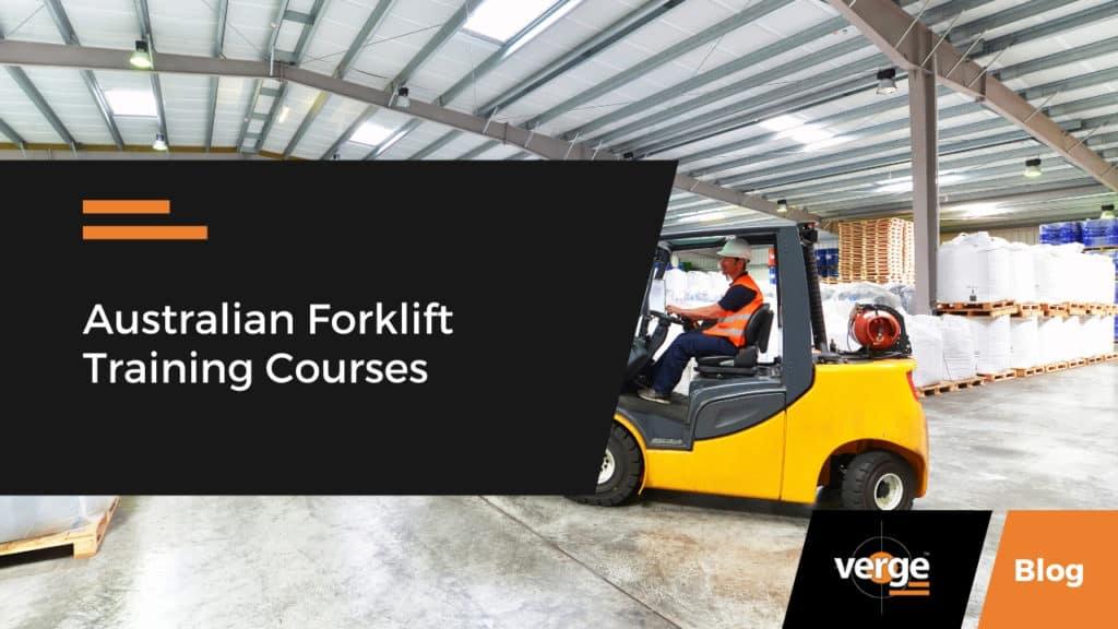 australian forklift courses