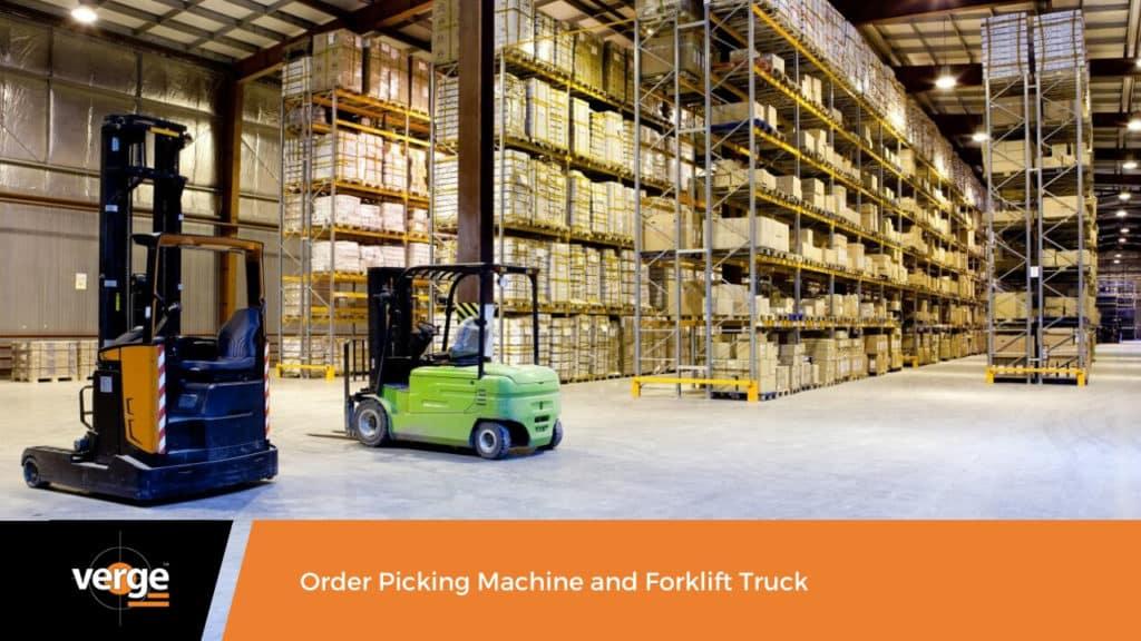 order picking machine