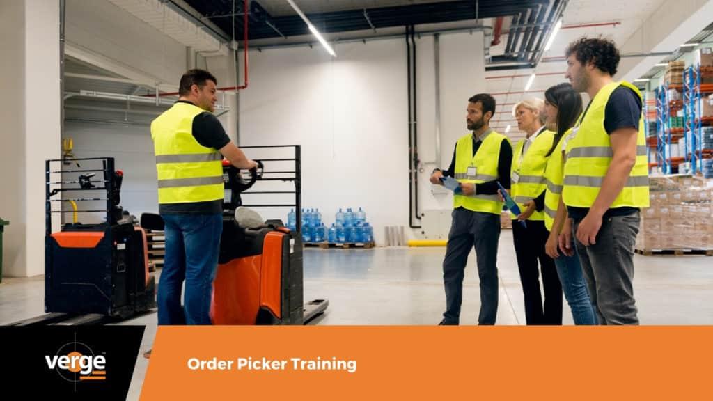 order picking training