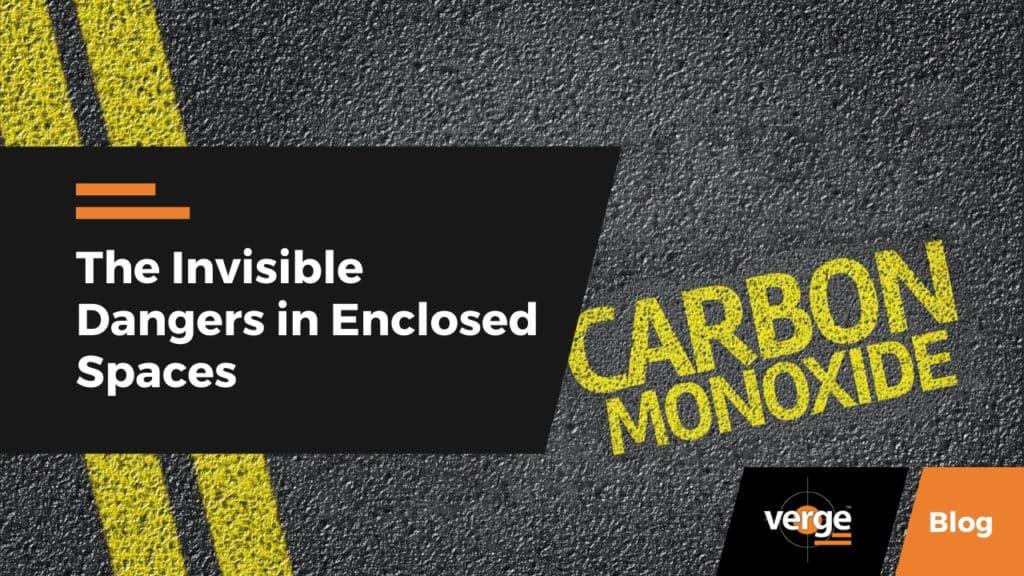 carbon monoxide dangers in enclosed spaces