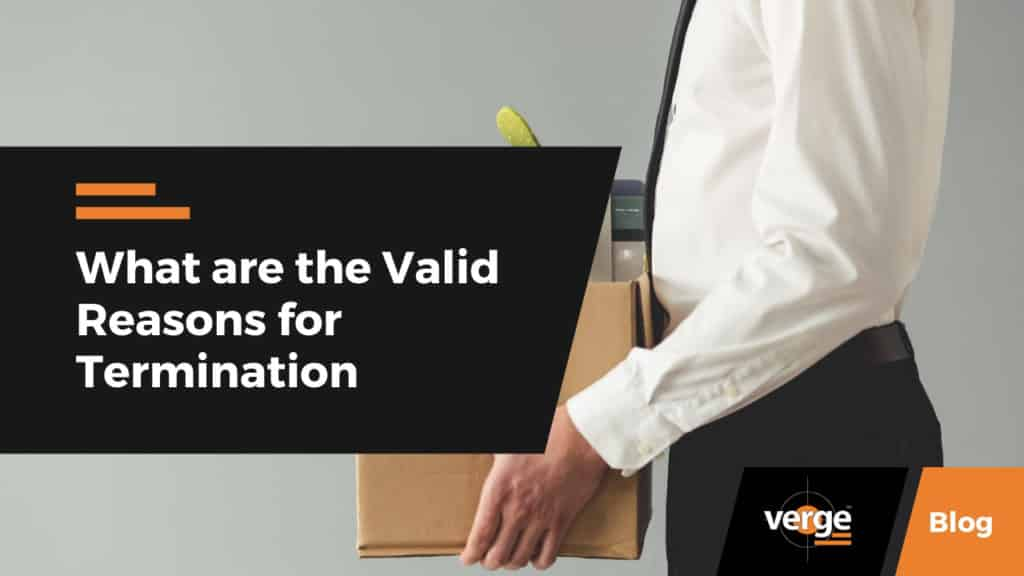 valid reasons for termination