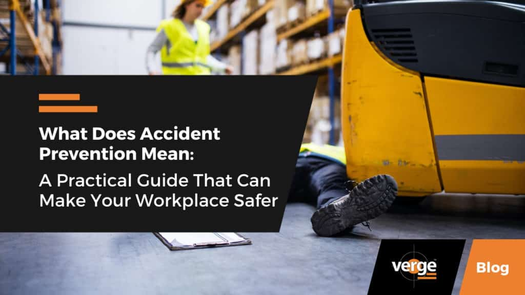 what does accident prevention mean
