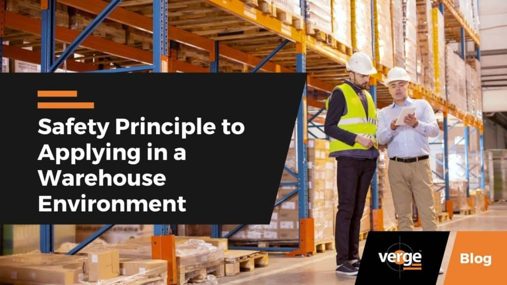 Safety Principle to Applying in a Warehouse Environment