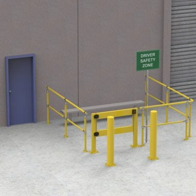 CV152 – The Driver Safety Zone Kit – 3 Sided 3 x 3 Metres