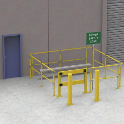 CV151 – The Driver Safety Zone Kit – 4 Sided 3 x 3 Metres
