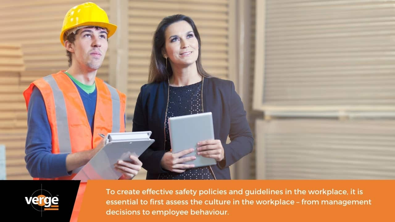 Assess the culture in the workplace.