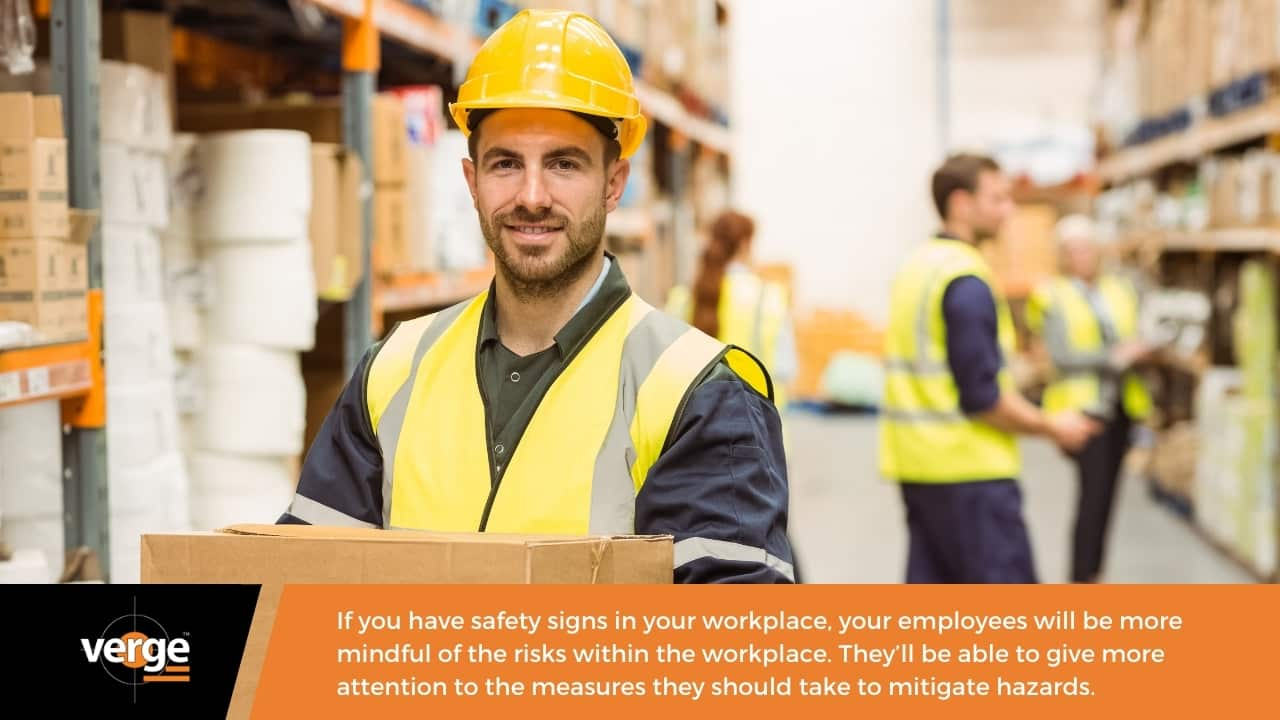 Boost the consciousness of your employees when it comes to workplace hazards.