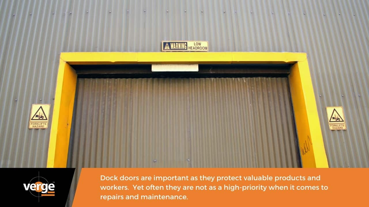 How door repairs and maintenance can improve warehouse safety.