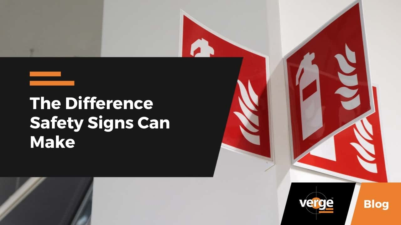 The Difference Safety Signs Can Make