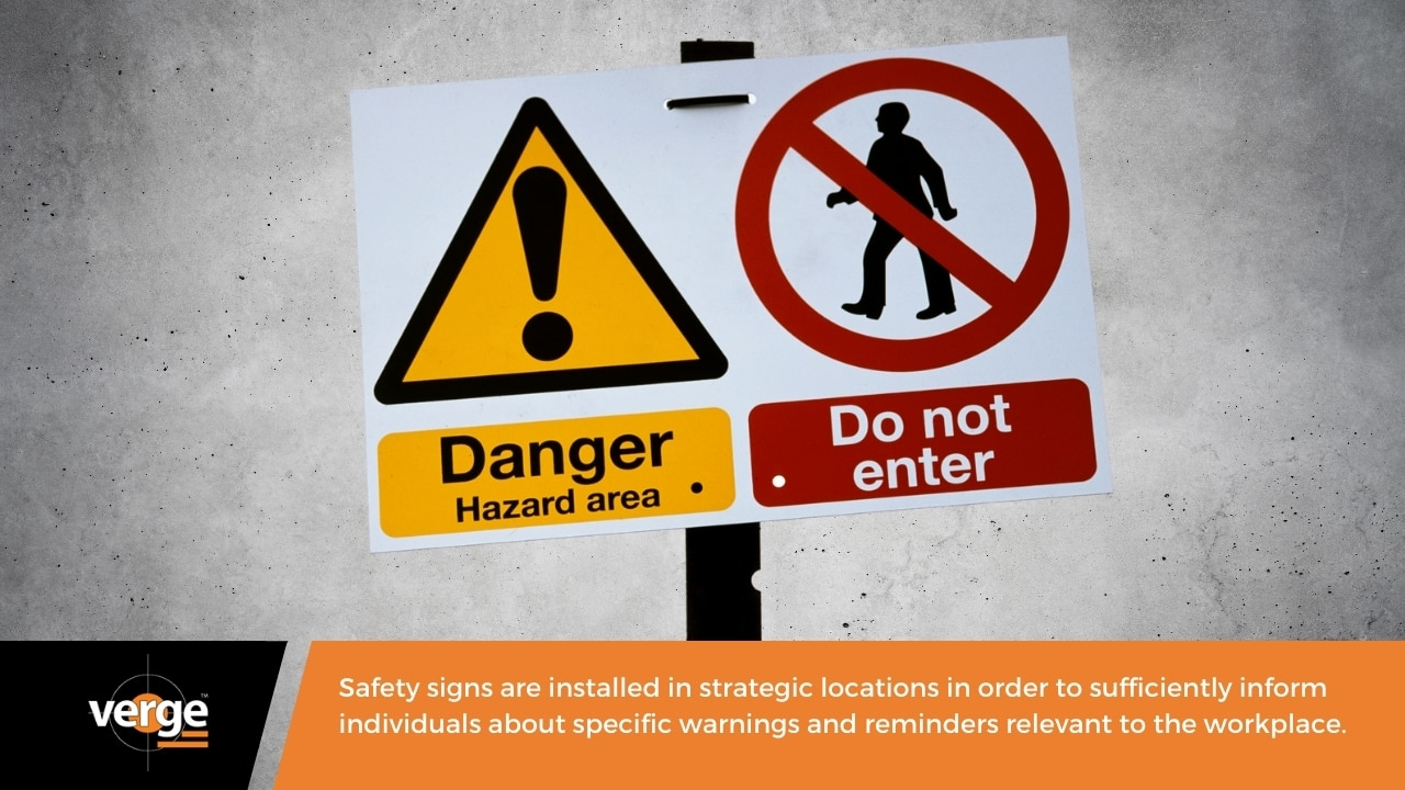 What are Safety Signs