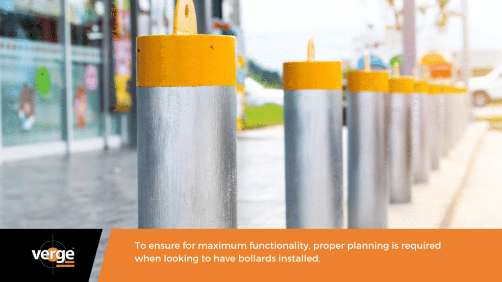 When and Where to Install Bollards - bollards