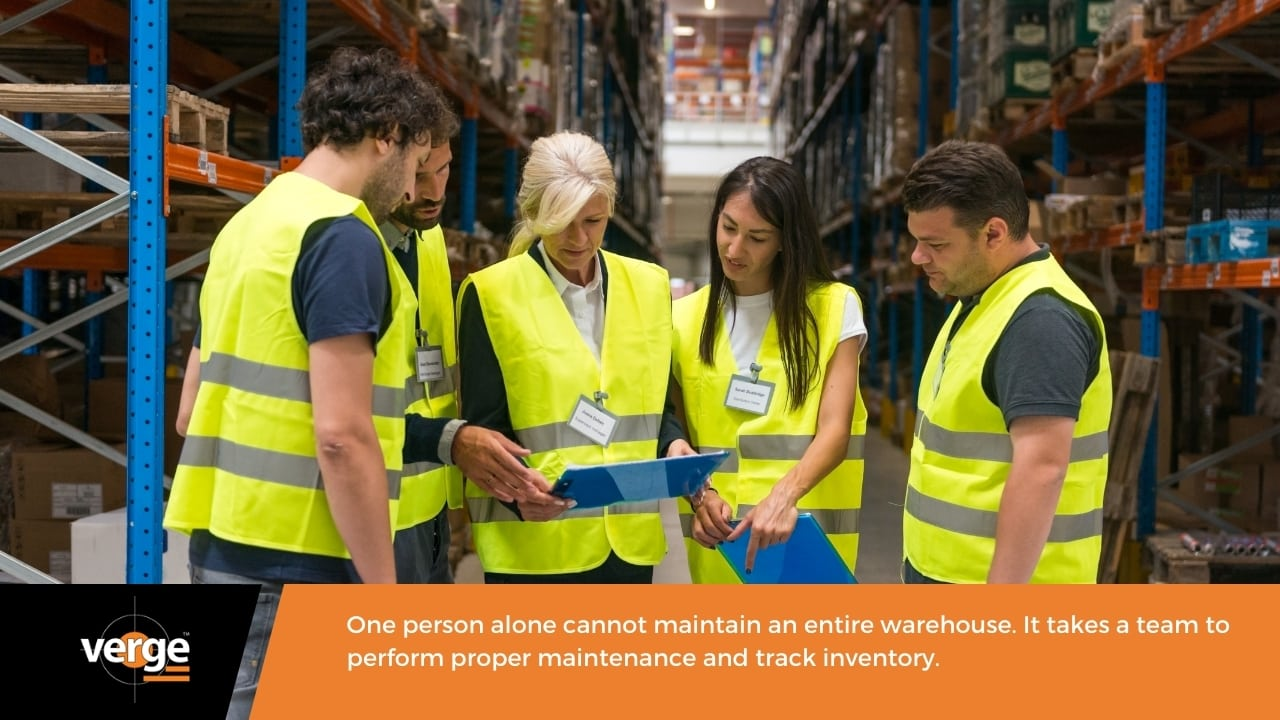 Warehouse Maintenance - Involve your employees