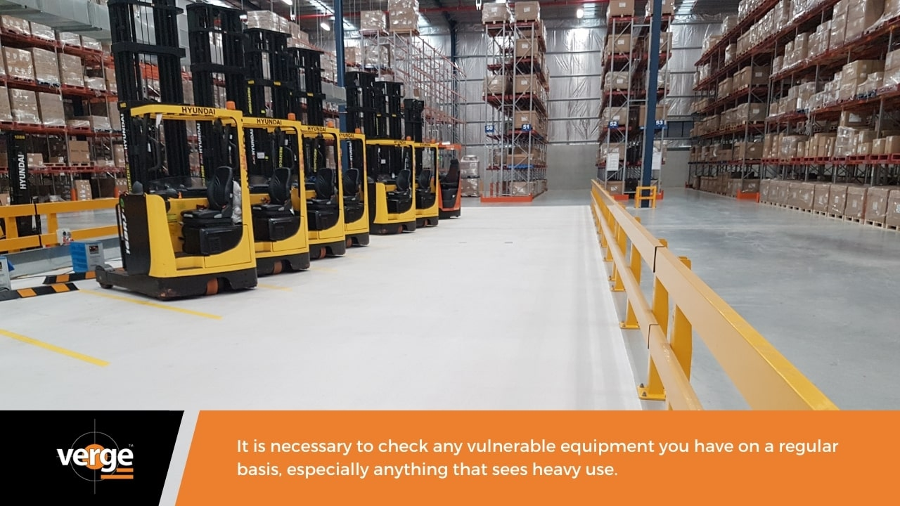 Warehouse Maintenance - Mechanical equipment and digital equipment