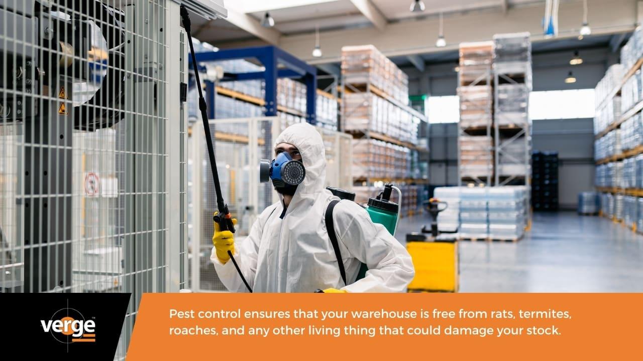 Warehouse Maintenance - Pest control
