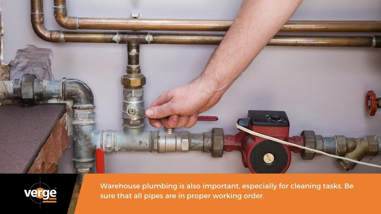 Warehouse Maintenance - Plumbing