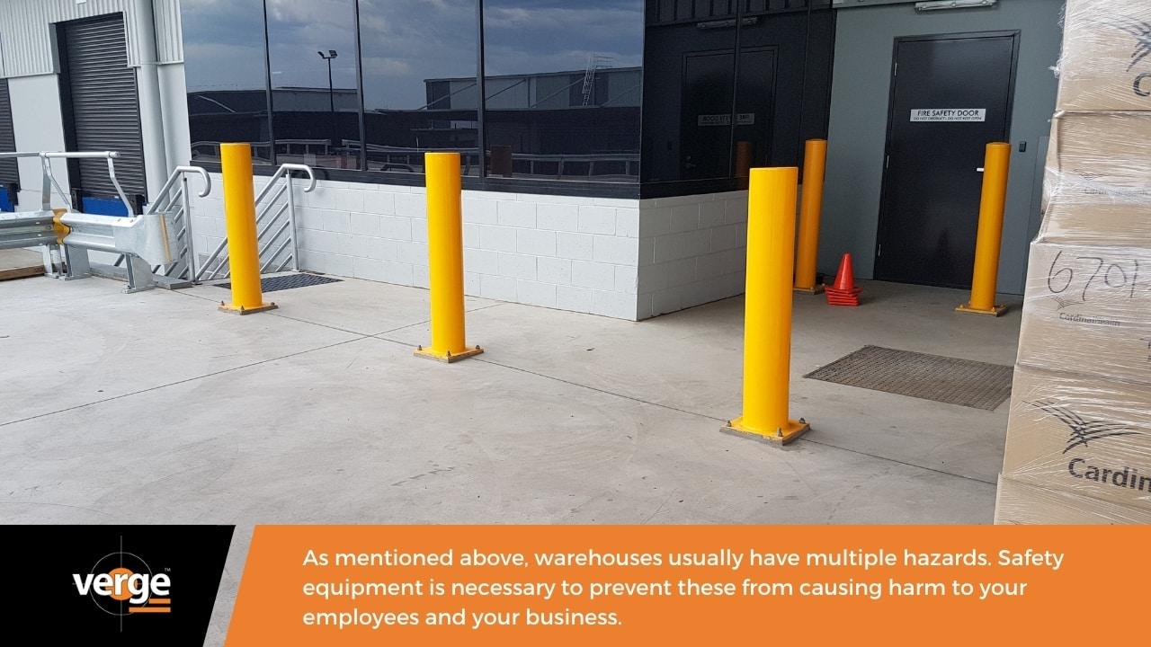 Warehouse Maintenance - Safety equipment - Bollards