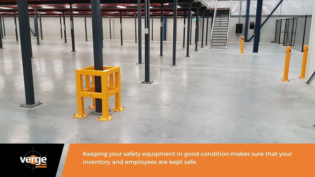 Warehouse Maintenance -Safety equipment - Column protector