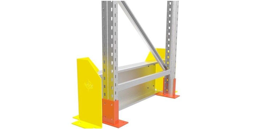 Rack End Barrier Single