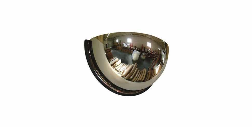 car park safety dome mirror