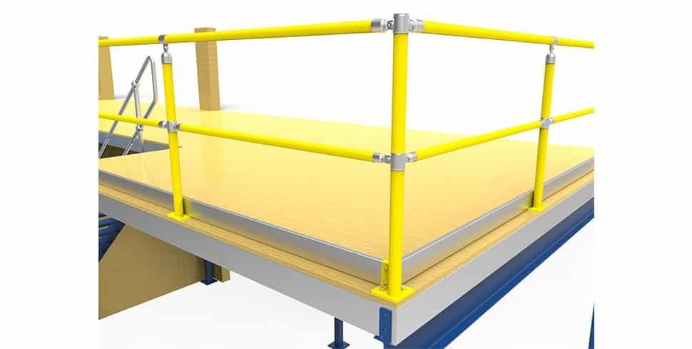 kickplate mezzanine safety