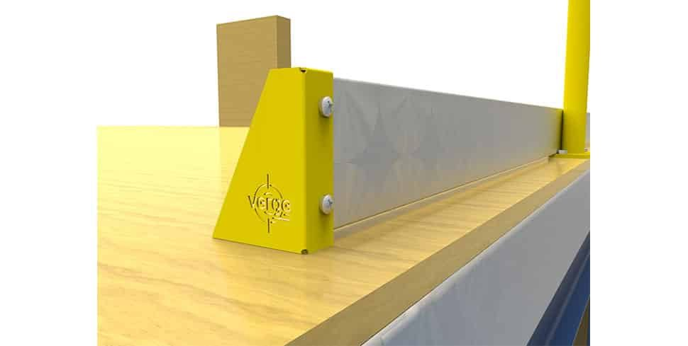 kickplate warehouse safety products