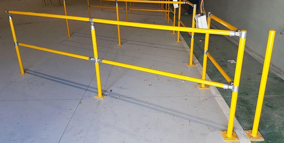 forklift charging station warehouse safety