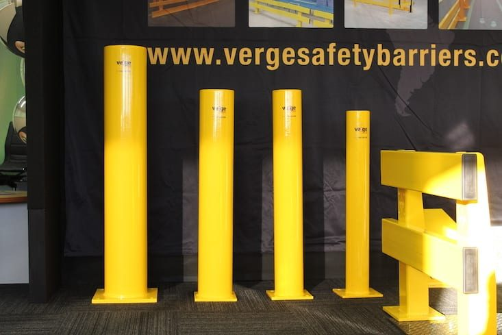car park safety bollards