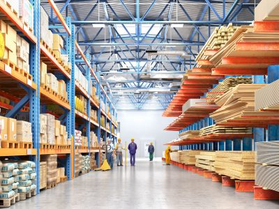 verge warehouse safety barriers